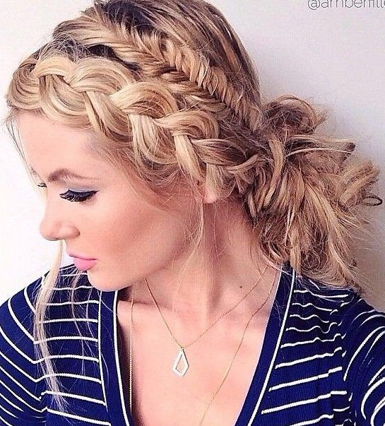 37 Dutch Braid Hairstyles – Braided Hairstyles With Inside Most Recently Three Strand Pigtails Braid Hairstyles (View 5 of 25)