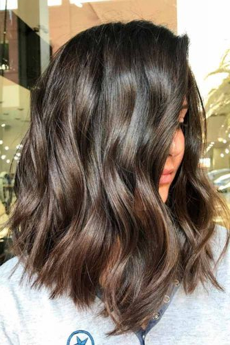 37 Trendy Hairstyles For Medium Length Hair Inside Mid Length Beach Waves Hairstyles (View 7 of 25)