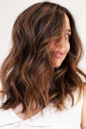 37 Trendy Hairstyles For Medium Length Hair With Regard To Mid Length Beach Waves Hairstyles (View 15 of 25)