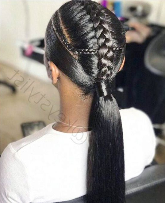 39 Crazy Braided Ponytail Hairstyles – Curly Craze For Most Up To Date Ponytail Braid Hairstyles (View 25 of 25)