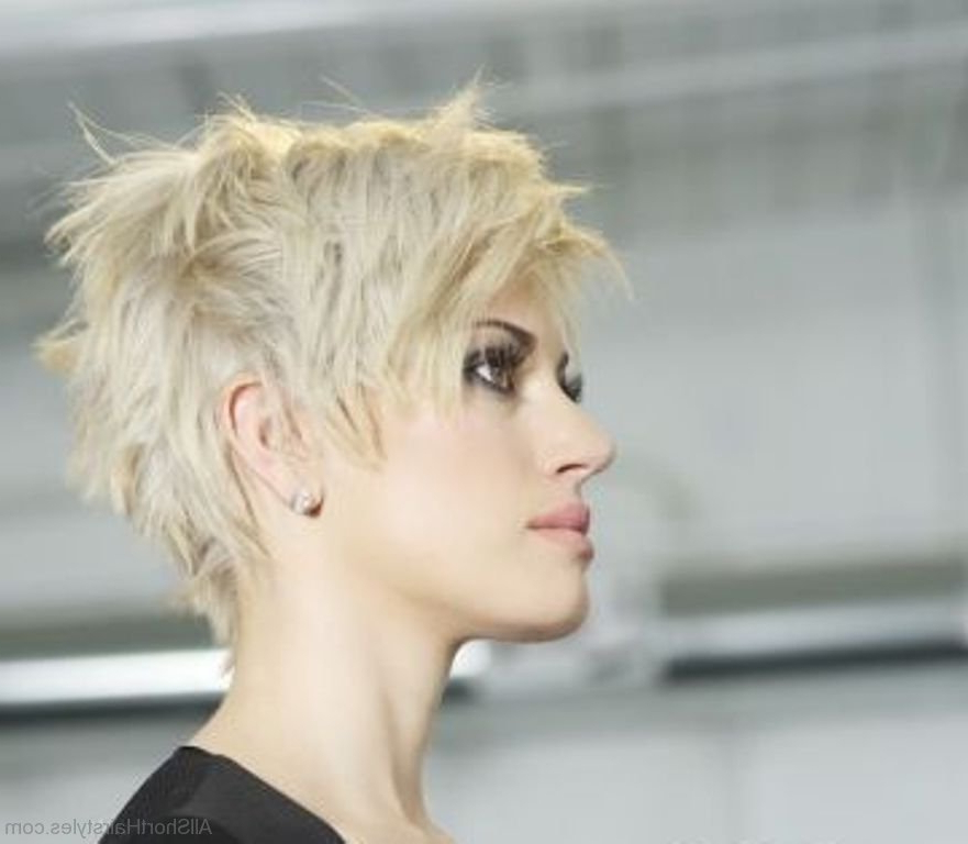 39 Excellent Short Spiky Haircuts Throughout Recent Edgy Messy Pixie Haircuts (View 19 of 25)