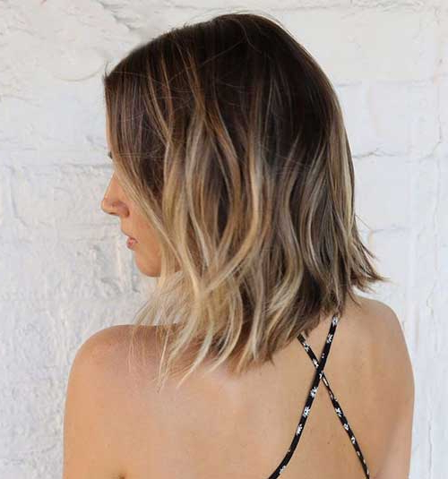 40 Beachy Waves Short Hair Inside Beach Wave Bob Hairstyles With Highlights (View 24 of 25)