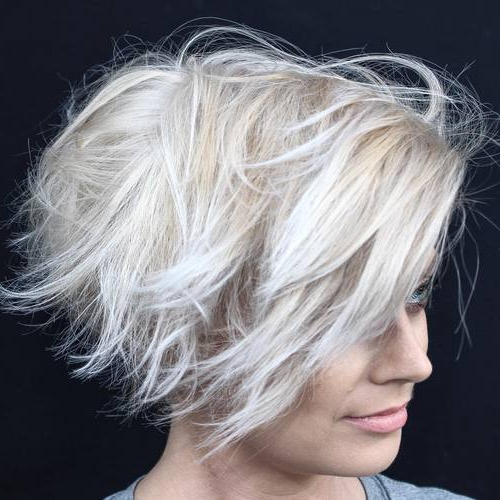 40 Choppy Bob Hairstyles 2020: Best Bob Haircuts For Short pertaining to Shaggy Bob Hairstyles With Choppy Layers