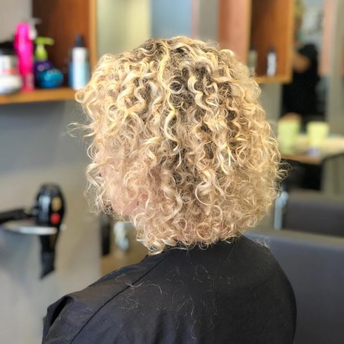 40 Cute Curly Bob Hairstyles For Anyone With Curls Intended For Permed Bob Hairstyles (View 20 of 25)