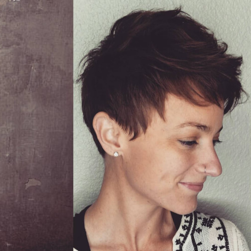 40 Cute Short Pixie Cuts For 2020 - Easy Short Pixie Hairstyles for Recent Super Short Shag Pixie Haircuts