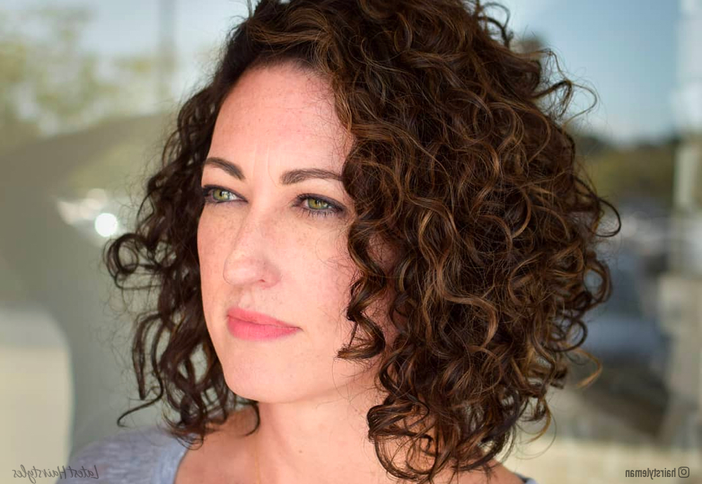 40 Hottest Curly Bob Hairstyles For Naturally Curly Hair within Cute Short Curly Bob Hairstyles