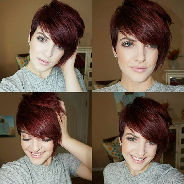 40 Hottest Short Wavy, Curly Pixie Haircuts 2020 – Pixie Inside Latest Plum Brown Pixie Haircuts For Naturally Curly Hair (View 5 of 25)