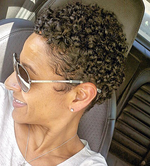 40 Hottest Short Wavy, Curly Pixie Haircuts 2020 - Pixie inside Most Current Plum Brown Pixie Haircuts For Naturally Curly Hair