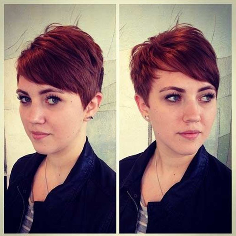 40 Hottest Short Wavy, Curly Pixie Haircuts 2020 - Pixie pertaining to 2018 Plum Brown Pixie Haircuts For Naturally Curly Hair