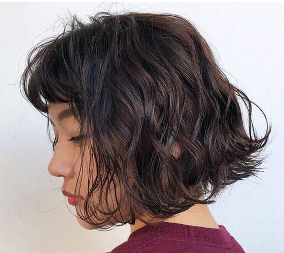 40 Styles To Choose From When Perming Your Hair inside Permed Bob Hairstyles