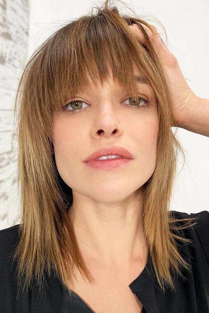 40 Wispy Bangs Ideas To Try For A Fresh Take On Your Style Within Wispy Bob Hairstyles With Long Bangs (View 9 of 25)
