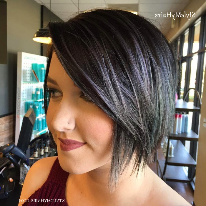 41 Flattering Short Hairstyles For Long Faces In 2019 pertaining to Current Classic Disconnected Bob Haircuts