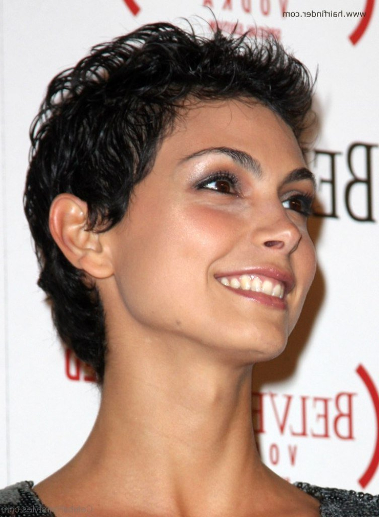 42 Brilliant Hairstyles Of Morena Baccarin Regarding Most Current Morena Pixie Haircuts With Bangs (View 23 of 25)