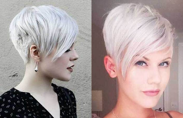 42 Short Hairstyles For Women (2020) [Best Trending Haircuts] In Best And Newest Metallic Short And Choppy Pixie Haircuts (View 21 of 25)