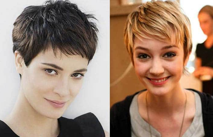 42 Short Hairstyles For Women (2020) [Best Trending Haircuts] within Most Recently Choppy Pixie Haircuts With Short Bangs