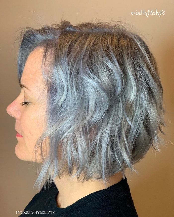 43 Youthful Short Hairstyles For Women Over 50 (With Fine regarding Youthful Bob Hairstyles