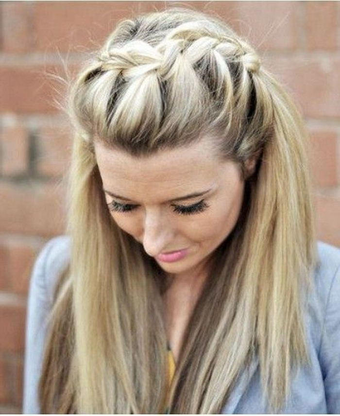 45+ French Braid Headband With Bangs – Shopping Guide. We with regard to Most Current Full Headband Braid Hairstyles