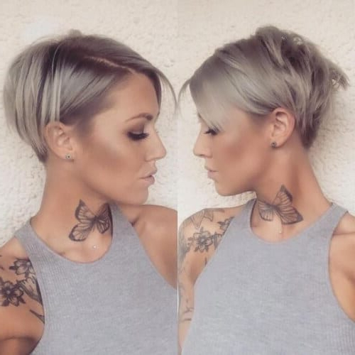 45 Inventive Short Haircuts That Solve All Fine Hair Issues throughout Latest Edgy Haircuts For Thin Hair
