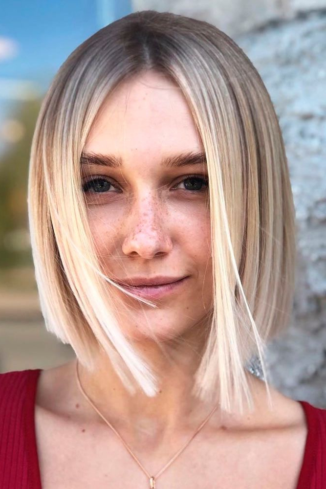 47 Best Short Haircuts For 2019   Hairstyle Share with Sleek Blunt Bob Hairstyles