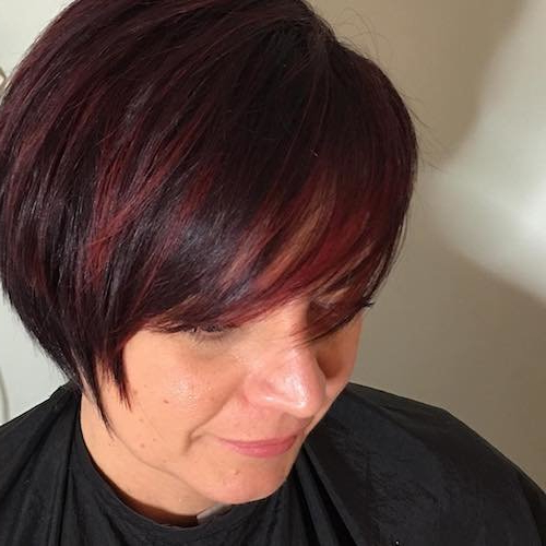49 Red Hair Color Ideas For Women Kissedfire For 2018 For Latest Pageboy Maroon Red Pixie Haircuts (View 12 of 25)