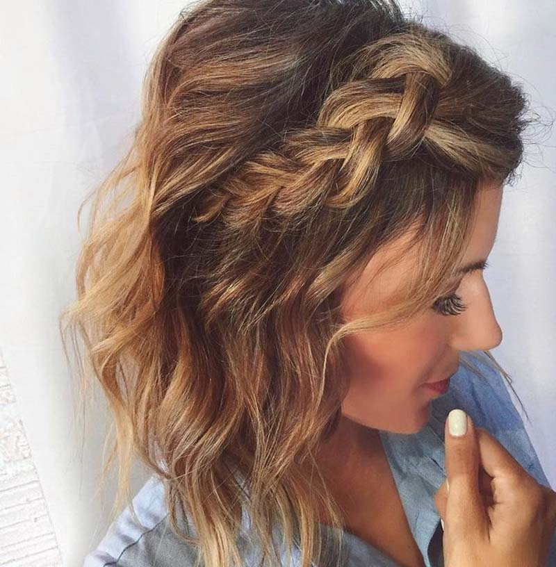 5 Sweet Braided Short Haircuts – Cute Short Hair With Braids Intended For Most Recent Braided Short Hairstyles (View 9 of 25)