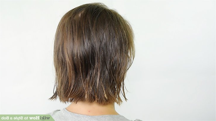5 Ways To Style A Bob – Wikihow Throughout Rounded Sleek Bob Hairstyles With Minimal Layers (View 20 of 25)