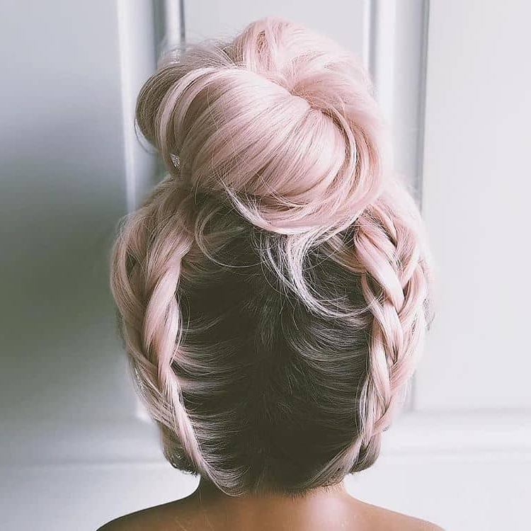 50 Bold And Subtle Ways To Wear Pastel Pink Hair Within Most Current Baby Pink Braids Hairstyles (View 18 of 25)