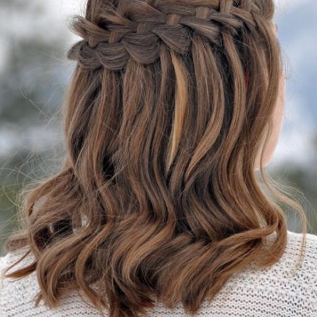 50 Braided Wedding Hairstyles We Love For 2020 High Waterfall Braid Hairstyles (View 20 of 25)