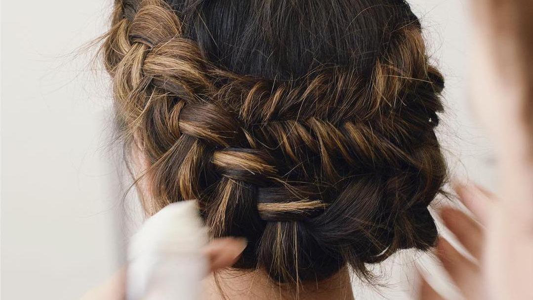50 Braided Wedding Hairstyles We Love Inside Most Recently Halo Braid Hairstyles With Long Tendrils (View 18 of 26)