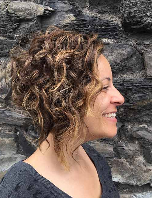50 Chic Curly Bob Hairstyles – With Images And Styling Tips Intended For Curly Bob Hairstyles (View 25 of 25)
