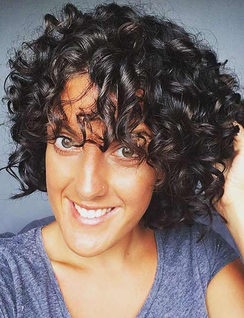 50 Chic Curly Bob Hairstyles – With Images And Styling Tips Intended For Natural Bob Hairstyles (View 24 of 25)