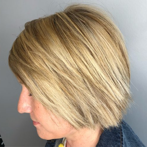 50 Chic Short Bob Haircuts & Hairstyles For Women In 2020 Pertaining To Short Cappuccino Bob Hairstyles (View 17 of 25)