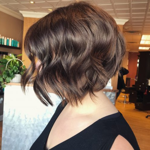 50 Chic Short Bob Haircuts & Hairstyles For Women In 2020 Pertaining To Short Cappuccino Bob Hairstyles (View 5 of 25)