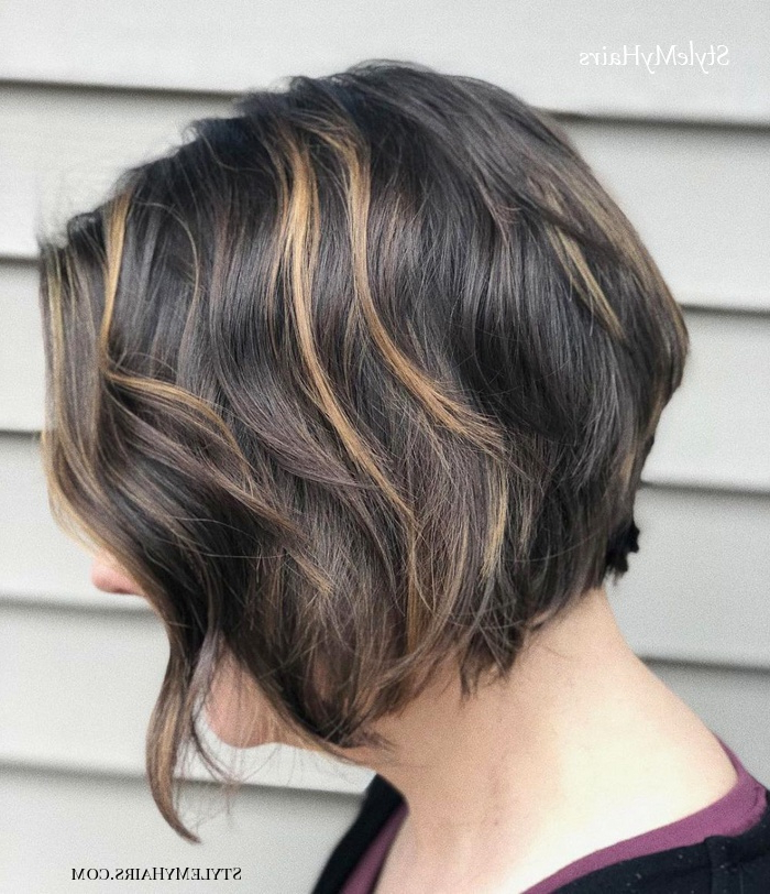 50 Chic Short Bob Hairstyles & Haircuts For Women In 2019 In Short Cappuccino Bob Hairstyles (View 9 of 25)