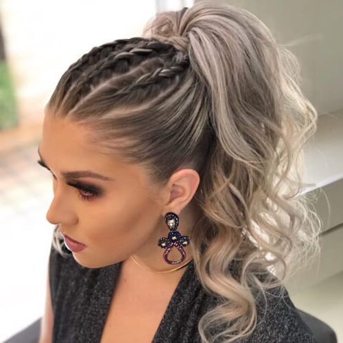 50 Coolest Ways To Sport A Ponytail | Hair Motive Hair Motive Intended For Newest Ponytail Braid Hairstyles (View 13 of 25)