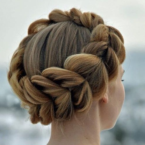 50 Creative Crown Braid Hairstyles | Braided Hairstyles For Most Recently Angular Crown Braid Hairstyles (View 3 of 25)