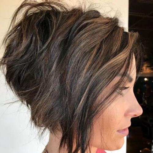50 Creative Stacked Bob Haircut Ideas | All Women Hairstyles Regarding Razor Bob Haircuts With Highlights (View 8 of 25)