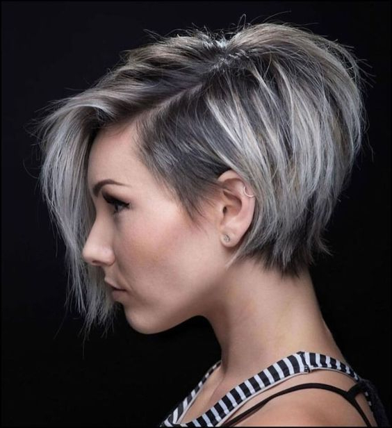 50 Eye Catching Asymmetrical Bob Hairstyles And Haircuts Throughout Asymmetrical Bob Hairstyles (View 12 of 25)