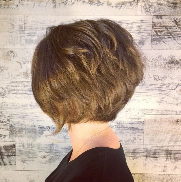 50 Fabulous Classy Graduated Bob Hairstyles For Women Intended For Textured Classic Bob Hairstyles (View 17 of 25)