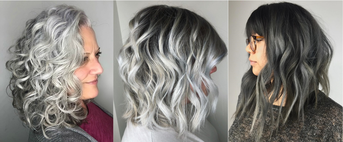 50 Fabulous Gray Hair Styles | Julie Il Salon Inside Most Up To Date Long Undercut Hairstyles With Shadow Root (View 23 of 25)