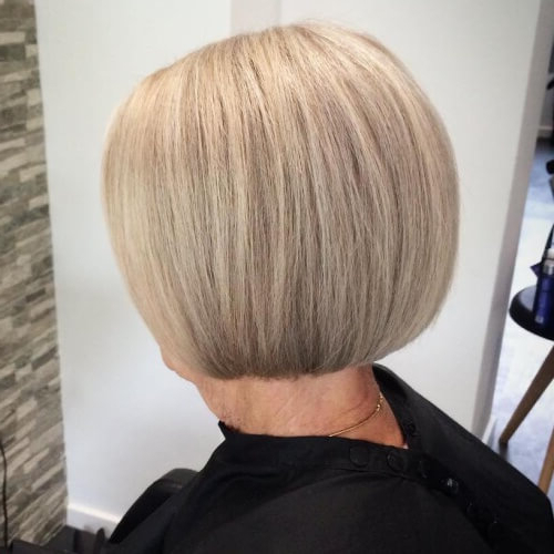 50 Hairstyles For Women Over 60 For Timeless Charm   Hair Within Cute Round Bob Hairstyles For Women Over  (View 16 of 25)