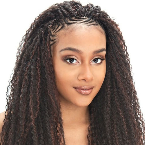 50 Half Up Half Down Hairstyles You'll Totally Love   Hair For Best And Newest Half Braided Hairstyles (View 12 of 25)