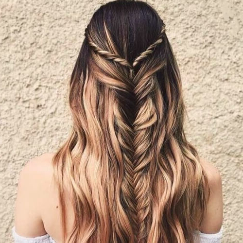 50 Half Up Half Down Hairstyles You'll Totally Love   Hair For Best And Newest Half Braided Hairstyles (View 8 of 25)