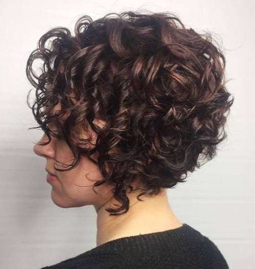 50 Newest Curly Bob Hairstyles | Julie Il Salon Regarding Curly Bob Hairstyles (View 15 of 25)