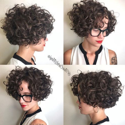 50 Newest Curly Bob Hairstyles | Julie Il Salon Regarding Naturally Curly Bob Hairstyles (View 9 of 25)