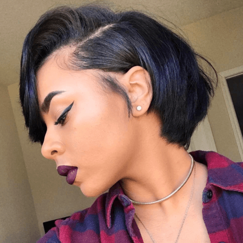 50 Sensational Bob Hairstyles For Black Women   Stylish Hair Intended For Natural Bob Hairstyles (View 11 of 25)