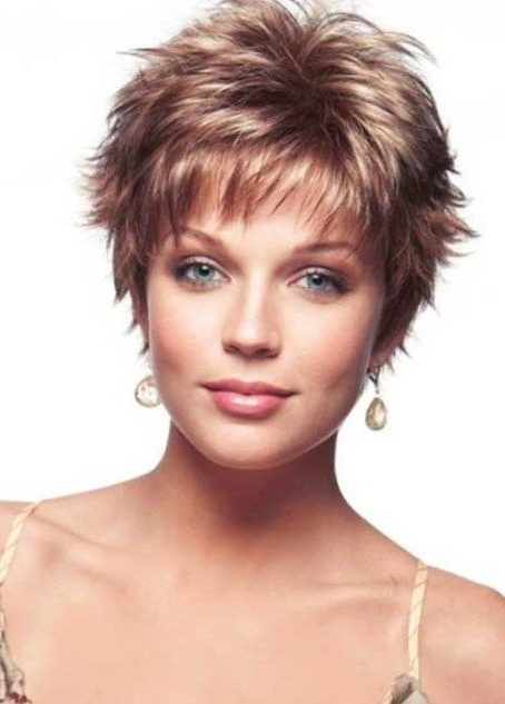 50 Short Shag Haircuts | Hairstyles Update With Regard To Recent Super Short Shag Pixie Haircuts (View 13 of 25)