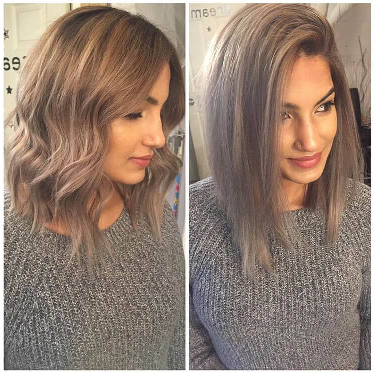 50 Stunning Bob Hairstyle Inspirations That Will Give You A With Regard To Versatile Lob Bob Hairstyles (View 11 of 25)