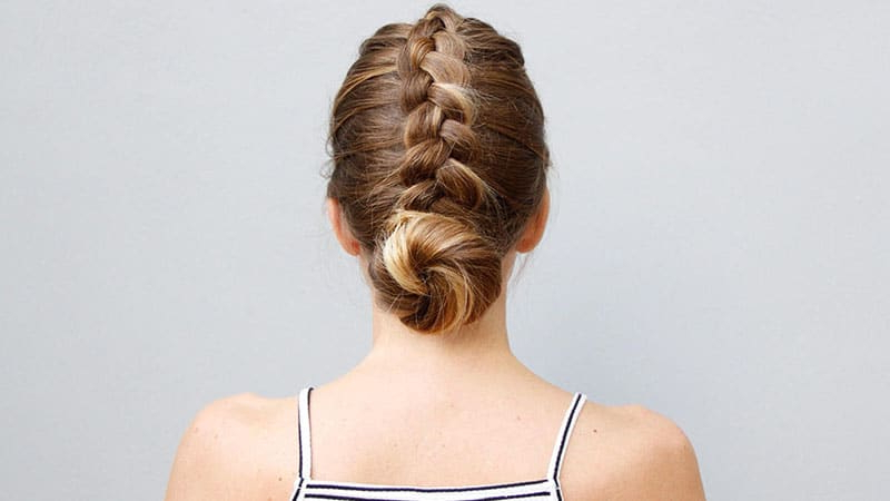 50 Stunning Prom Hairstyles To Copy In 2020 – The Trend Spotter Pertaining To 2020 Modern Braided Top Knot Hairstyles (View 14 of 25)