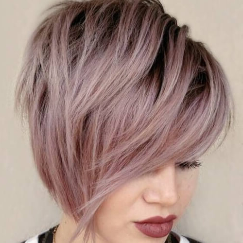 50 Wedge Haircut Ideas For A Retro Or Modern Look | Hair With Regard To Current Long Undercut Hairstyles With Shadow Root (View 20 of 25)
